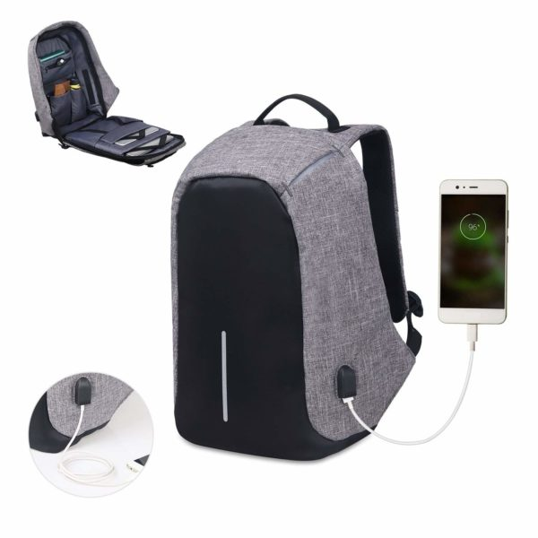 Anti Theft Laptop Bag with USB Charging Port